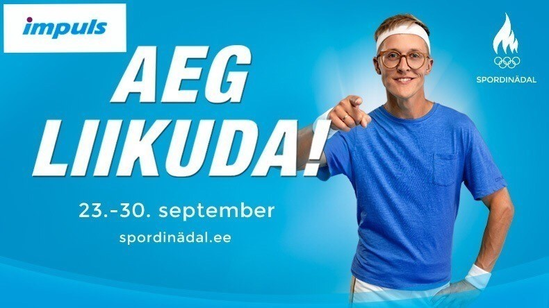 Spordinädal IMPULS'is 25-28.september